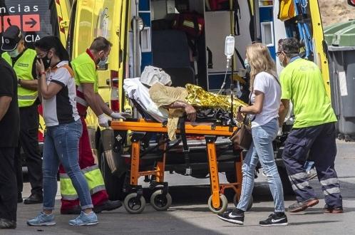 Взрыв на АЗС в Испании