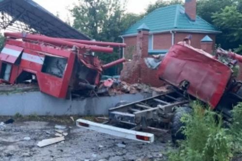 Пожарные погибли в тяжелой автокатастрофе
