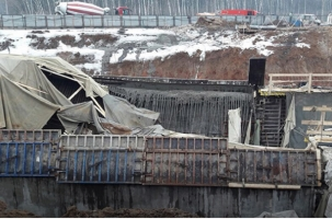 В Москве обрушился строящийся тоннель