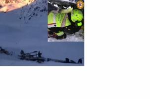 Самолет и вертолет столкнулись над Альпами