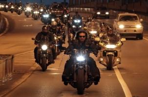 Ночные волки в Севастополе: «Возвращение»