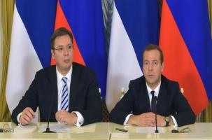 Сербский десант в России