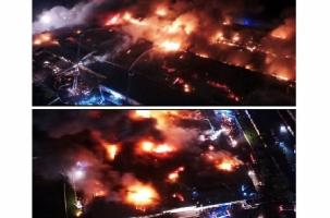 4 000 кв м ядовитого пожара в Москве. Хроника событий
