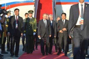 Путин прибыл в Пекин на китайский День победы