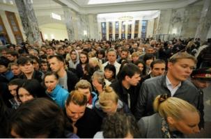 Москва: Частичный паралич «зеленой» ветки метро