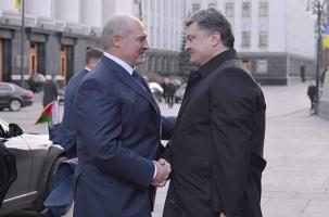 Душевная встреча Лукашенко с Порошенко