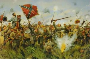 США готовятся к гражданской войне