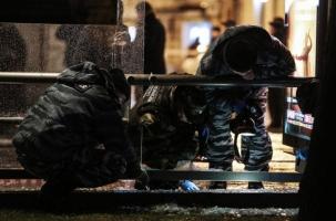 В Москве на автобусную остановку бросили гранату