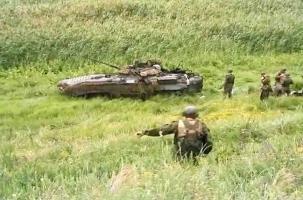 Два БМП нарушили российскую границу