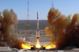 «Протон» упал вместе с мексиканским спутником