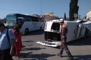 Крупное ДТП в Сочи. Туристов увезли в больницы
