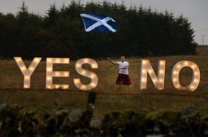 Шотландия голосует на референдуме