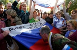 На границе с Россией возникла Луганская народная республика