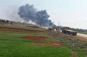Сирийский МиГ разбился на границе с Турцией. Видео