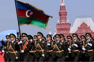 Парадный расчет: Азербайджан–Москва