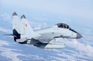 Истребитель МИГ-29 разбился в Подмосковье