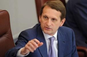 Нарышкин назначен директором СВР. Биография