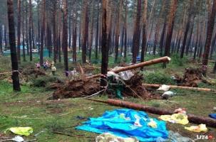 Ураган-убийца смёл фестиваль на озере Ильмень