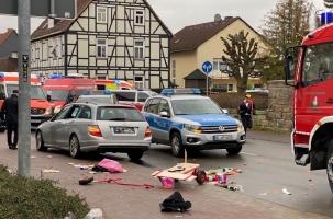 Mercedes сбил 30 человек в ФРГ