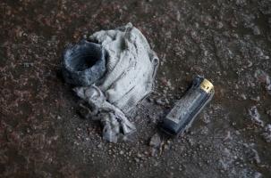 Самосожжение  перед  мэрией  Калининграда
