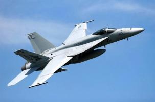 Два Super Hornet столкнулись в небе над Калифорнией