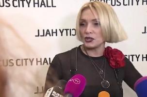 Неудобный вопрос для Лаймы Вайкуле об Украине
