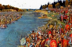 Татары вновь встали на Угре