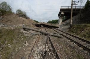 Взорван мост между ЛНР и Украиной