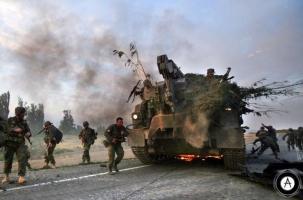 Официальный Киев выжигает села на востоке
