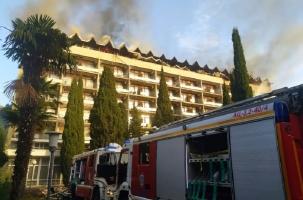 Огонь и потоп в санатории Минобороны