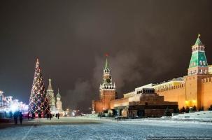 Рекордно холодное Рождество в Москве