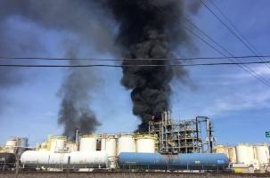 Рабочие побежали с завода до взрыва