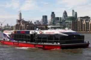 Катер не заметил лондонский мост