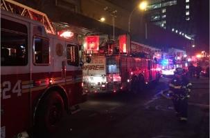 Нью-Йорк: 24 человека пострадали на пожаре