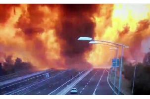 Ад на дороге. Взрыв бензовоза в Болонье