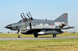 Разбились два истребителя ВВС Турции