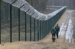 Латвия строит забор вдоль границы с Россией