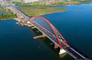 В Новосибирске открылся уникальный мост