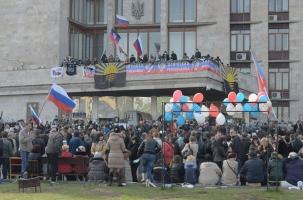Донецк проголосовал за народную республику