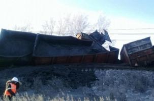29 вагонов сошли с рельсов в Иркутской области