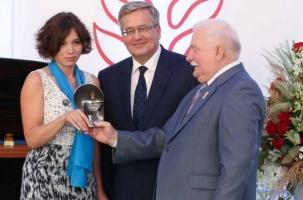 Жанне Немцовой вручили польскую «Солидарность»