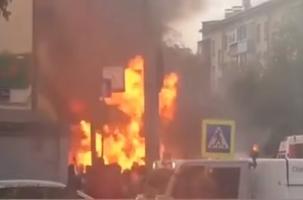 В Москве ограбили Альфа-банк. Видео