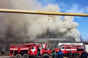 Пожар на Заволжском моторном