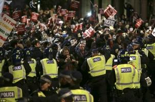Антикапиталистический марш в Лондоне