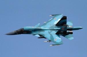 Су-34 разбился под Комсомольском-на-Амуре