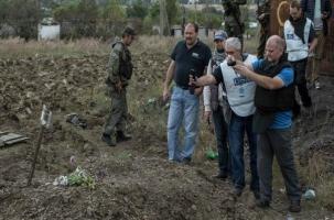На донецкой шахте найдены тела растрелянных женщин