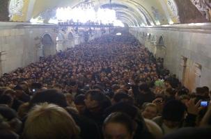 Московский метрополитен предлагает повысить стоимость проезда в 2014 году
