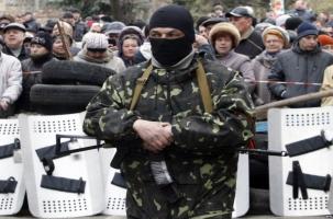 Киев использует армию против Славянска