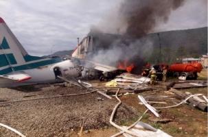 Отказ, удар, огонь: катастрофа пассажирского самолета в Бурятии