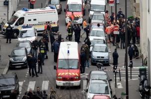 В Париже расстреляли редакцию